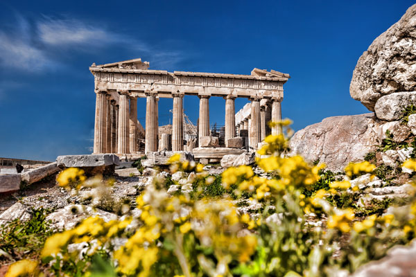 Athens mythology tour of the Acropolis