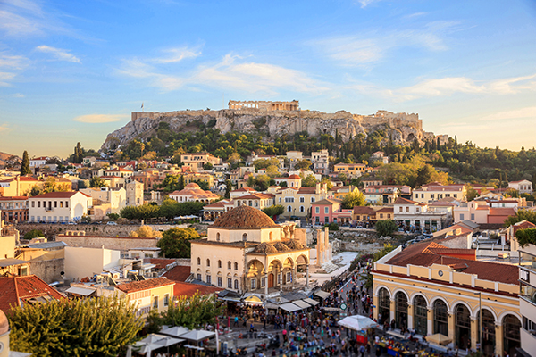 Athens Greece travel Plaka 3