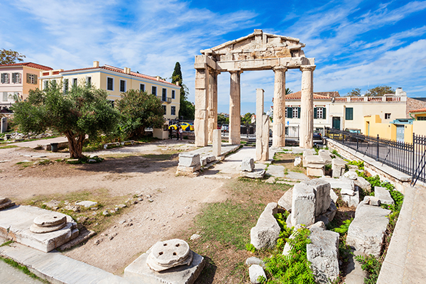 Athens Greece travel Roman agora 2