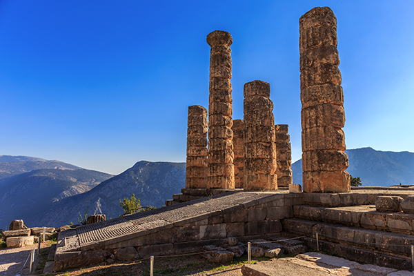 Athens Greece travel local Delphi 1