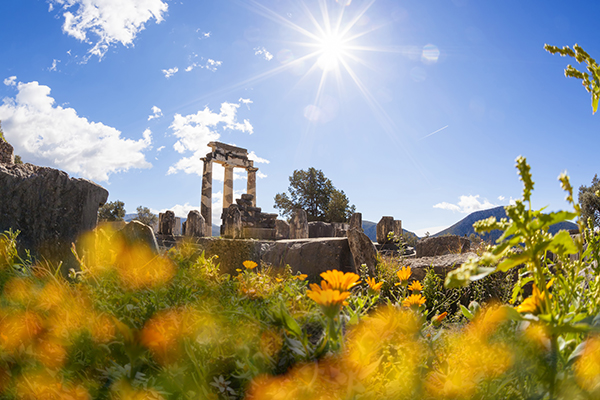 Athens Greece travel local Delphi 2