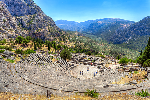 Athens Greece travel local Delphi 6