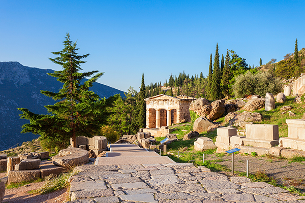 Athens Greece travel local Delphi 7