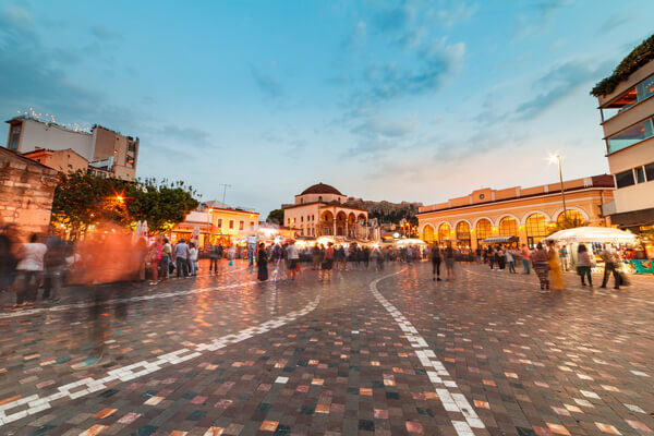 Athens food tour monastiraki