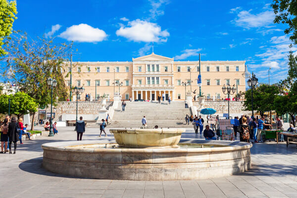 Athens food tour syntagma
