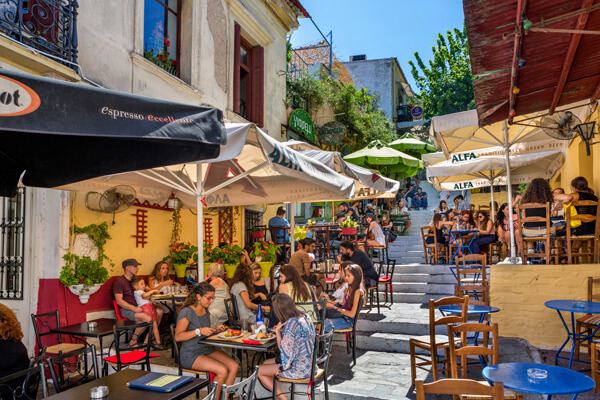 Athens walking food tour