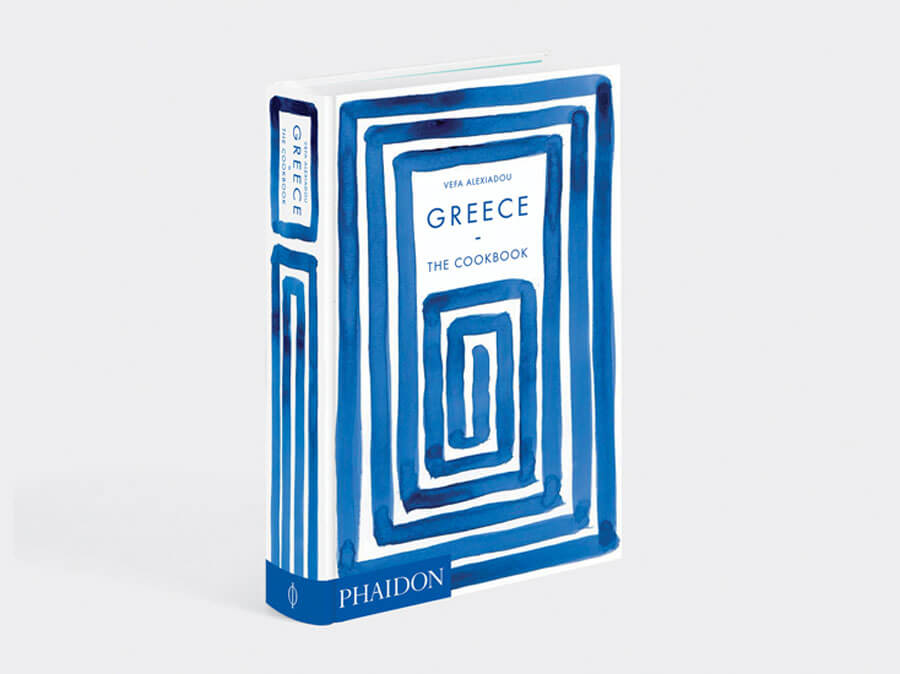 "Cover of the ""Greece: The Cookbook"""