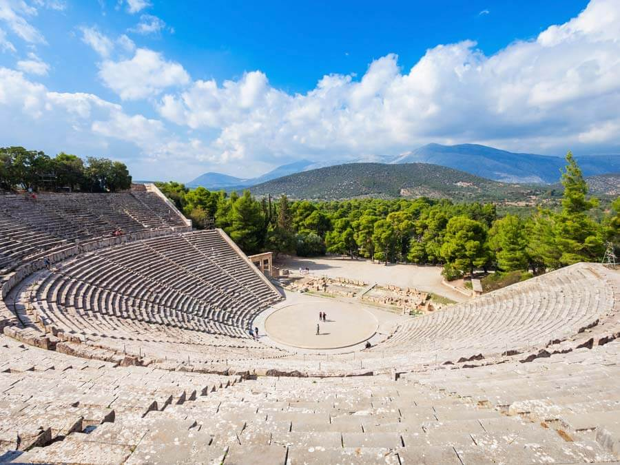 Ancient Theater of Epidaurus, day trip from Athens