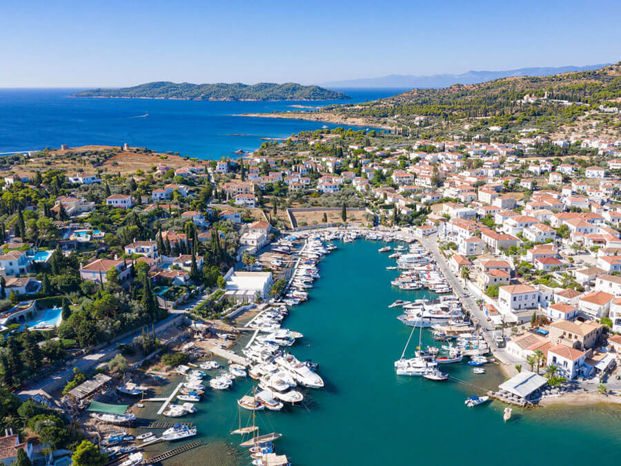Spetses, day trip from Athens