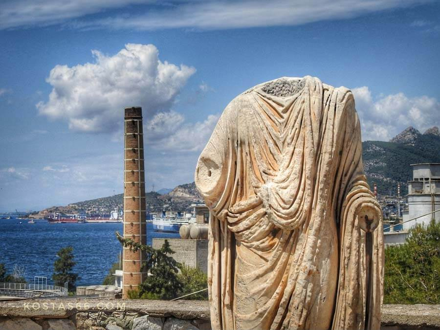 The industrialization of Eleusis
