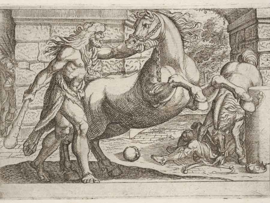 Hercules and the Horses of Diomedes