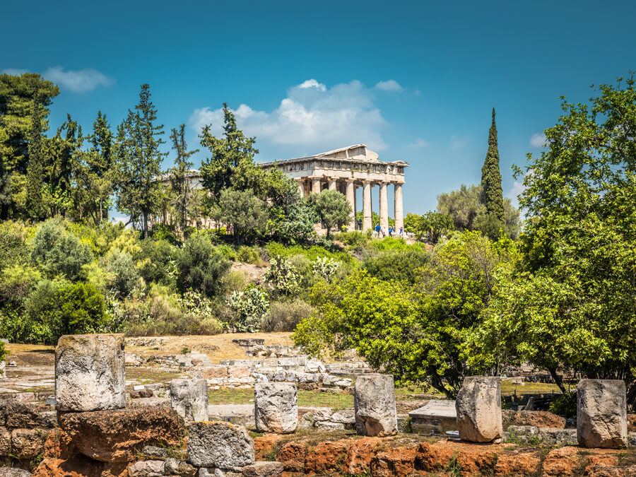 Monument of the Temple Of Hephaestus