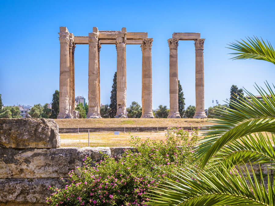 Monument of the Temple of Olympian Zeus