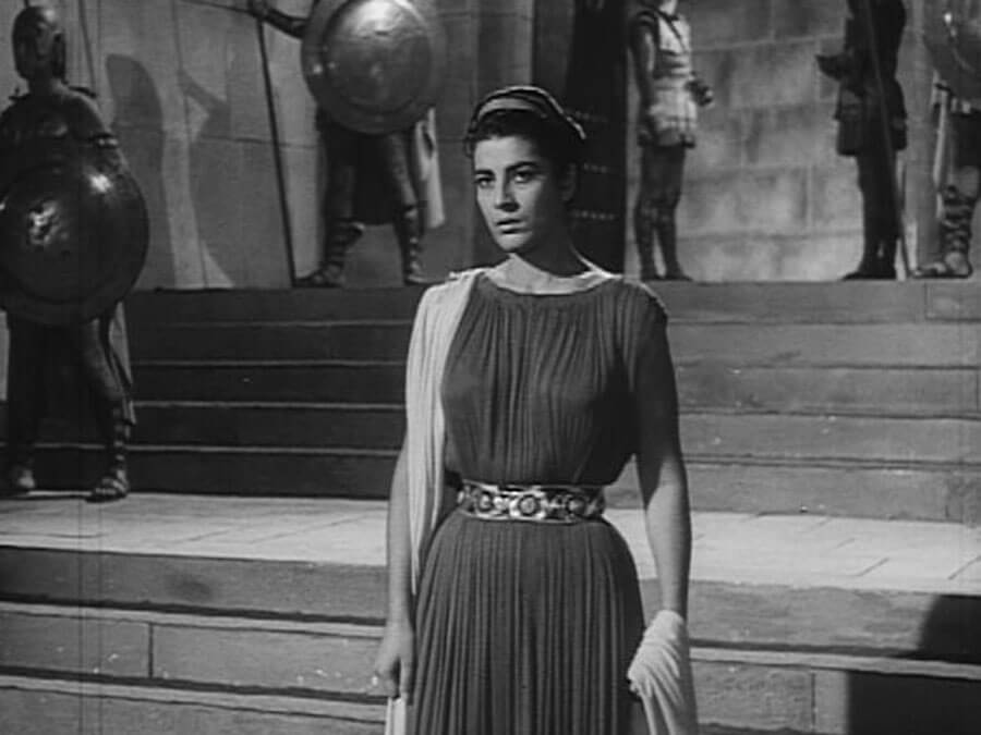 Irene Papas as Antigone