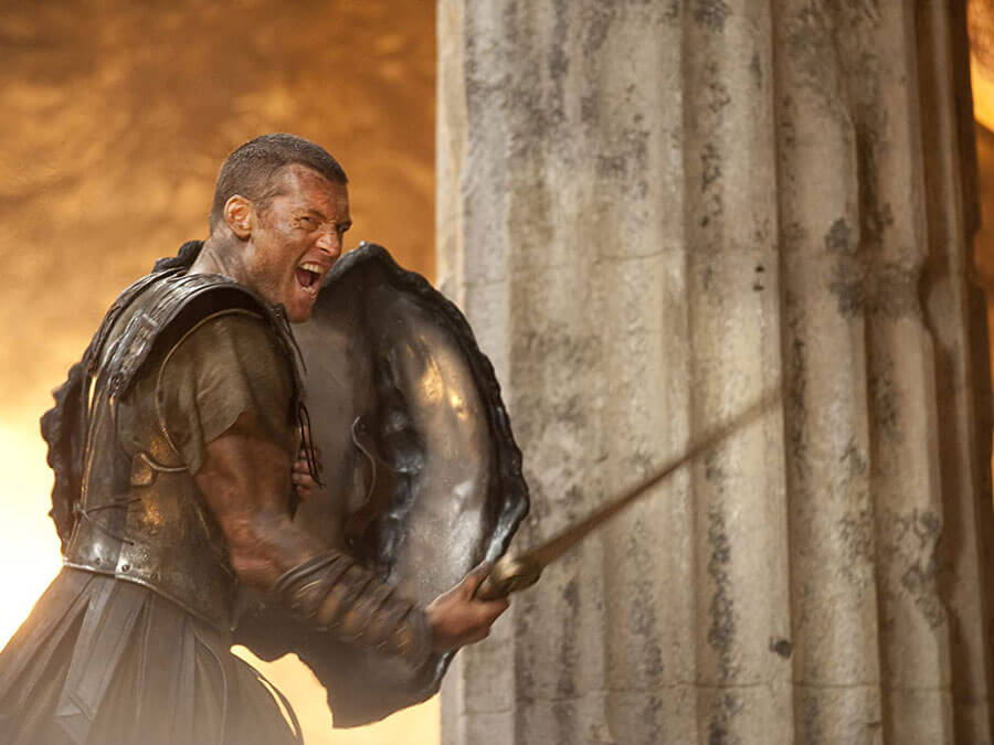 "Sam Worthington in ""Clash of the Titans"""