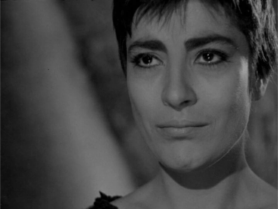 "Irene Papas in ""Ilektra"""