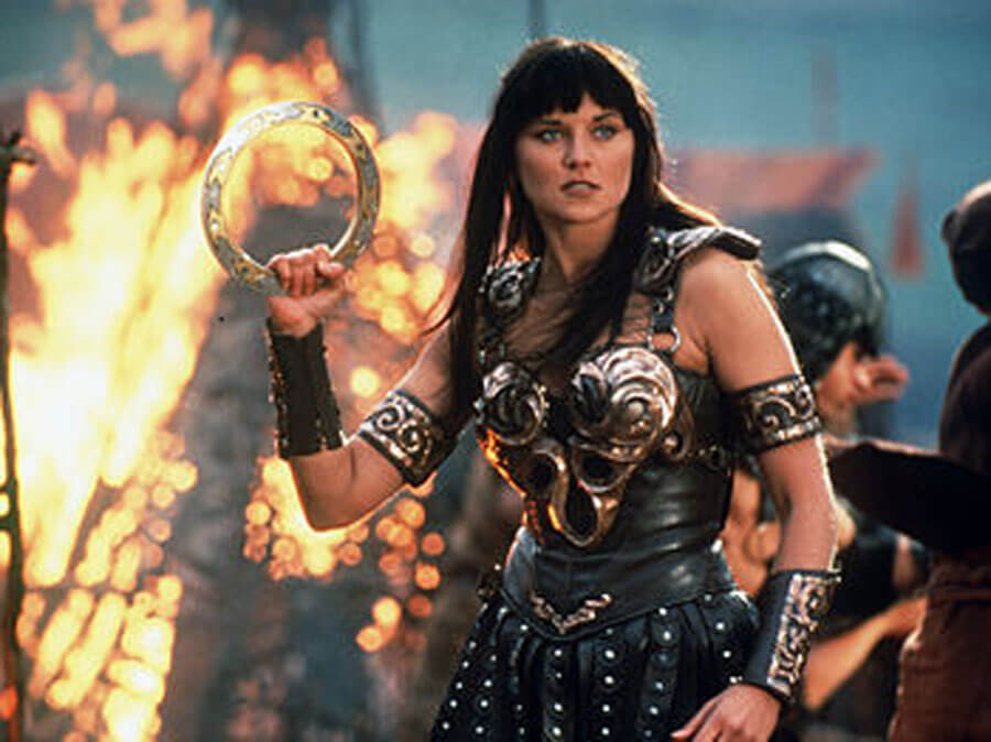 Lucy Lowell as Xena