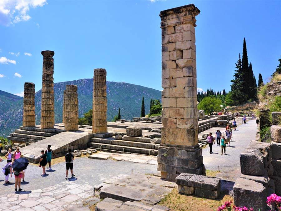The Temple of Apollo today