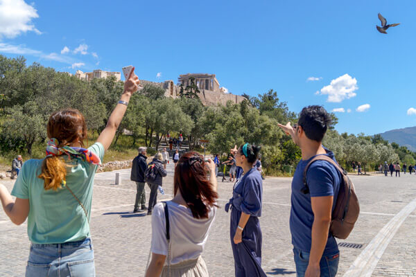 GreekTravelTellers walking tour Athens Parthenon