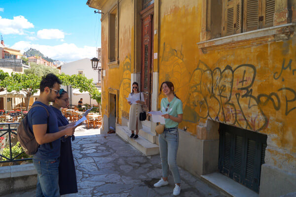 GreekTravelTellers walking tour Athens Plaka