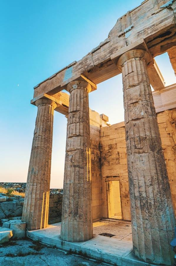 Athens acropolis mythology tour